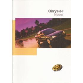 Chrysler Neon brochure 24 pagina's 1997 met gebruikssporen Nederlands