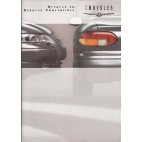Chrysler Stratus brochure 30 pagina's 1999 met gebruikssporen Nederlands