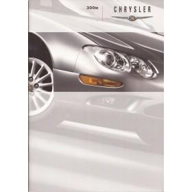Chrysler 300M brochure 42 pagina's 1999 met gebruikssporen Nederlands
