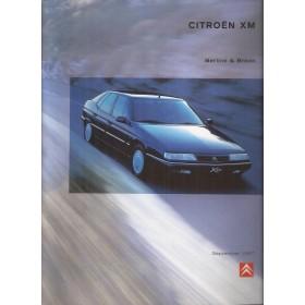 Citroen XM brochure 44 pagina's 1997 met gebruikssporen Nederlands