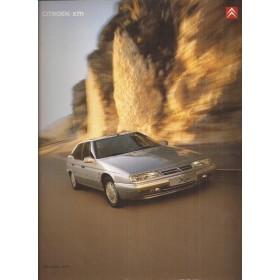 Citroen XM brochure 44 pagina's 2000 met gebruikssporen Nederlands