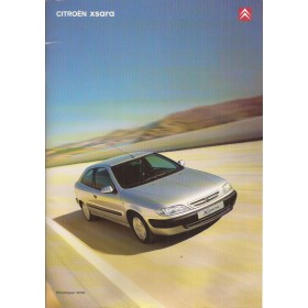 Citroen Xsara brochure 40 pagina's 2000 met gebruikssporen Nederlands