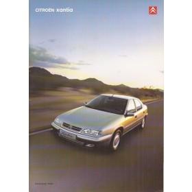 Citroen Xantia brochure 40 pagina's 2000 met gebruikssporen Nederlands