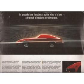 Datsun 280ZX brochure 26 pagina's ca 1980 met gebruikssporen Engels