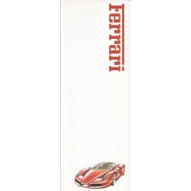 Ferrari Enzo 4 pagina's Benzine Fabrikant ca 2002 met gebruikssporen Nederlands
