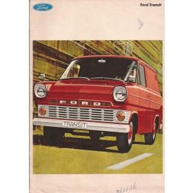 Ford Transit brochure 32 pagina's 69 met gebruikssporen Nederlands