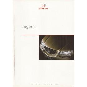 Honda Legend brochure 44 pagina's 99 met gebruikssporen Nederlands