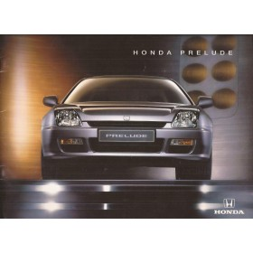 Honda Prelude brochure 24 pagina's 97 met gebruikssporen Nederlands