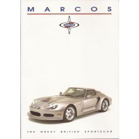 Marcos LM brochure 6 pagina's Benzine Fabrikant 95 met gebruikssporen Engels