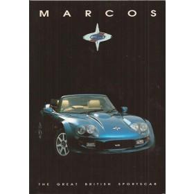 Marcos Mantara brochure 8 pagina's Benzine Fabrikant 95 met gebruikssporen Engels