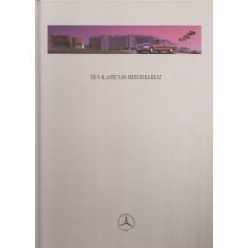 Mercedes S-klasse (W140) brochure 62 pagina's 96 met gebruikssporen Nederlands
