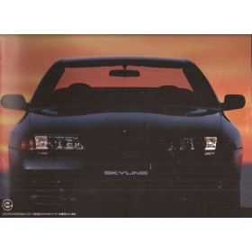 Nissan Skyline GT-R type R32 brochure 20 pagina's 1993 met gebruikssporen Japans