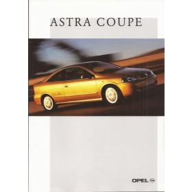 Opel Astra Coupe brochure 24 pagina's Benzine Fabrikant 02 ongebruikt Nederlands