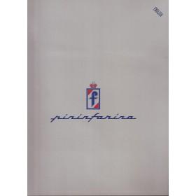 Pininfarina persmap Frankfurt Motor Show Fabrikant 2001 ongebruikt   Engels