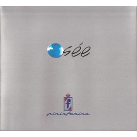 Pininfarina Osée persmap Frankfurt Motor Show Fabrikant 2001 ongebruikt Engels/Duits
