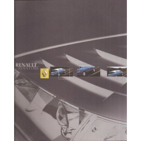 Renault Avantime brochure 60 pagina's Benzine/Diesel Fabrikant 02 ongebruikt Nederlands