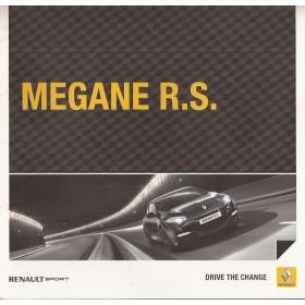 Renault Megane RS brochure 20 pagina's Benzine Fabrikant 10 ongebruikt Nederlands