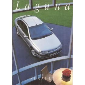 Renault Laguna brochure 12 pagina's Benzine/Diesel Fabrikant 94 ongebruikt Nederlands