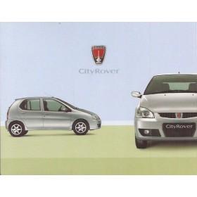 Rover CityRover 8 pagina's 2003 met gebruikssporen Nederlands