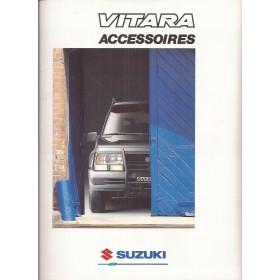 Suzuki Vitara brochure 16 pagina's 1988 met gebruikssporen Nederlands