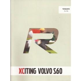 Volvo S60 brochure 16 pagina's 2002 met gebruikssporen Nederlands
