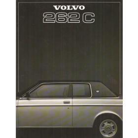 Volvo 262C brochure 8 pagina's 1977 met gebruikssporen Nederlands