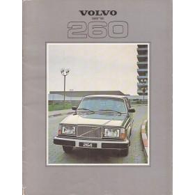 Volvo 260-serie brochure 32 pagina's 1979 met gebruikssporen Nederlands