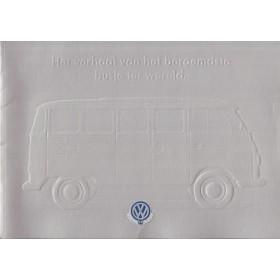 Volkswagen Transporter brochure 36 pagina's 1997 met gebruikssporen Nederlands