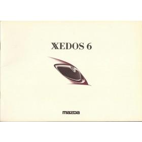 Xedos 6 brochure 36 pagina's 92 met gebruikssporen Nederlands