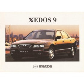 Xedos 9 brochure 20 pagina's 98 met gebruikssporen Nederlands