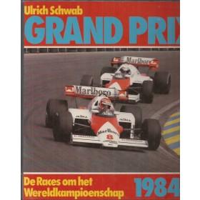 Jaarboek  Grand Prix  84 met gebruikssporen ex/bibliotheek harde kaft   Nederlands