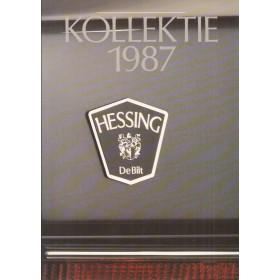 Kollektie Hessing programma aanbod 87 ongebruikt Nederlands