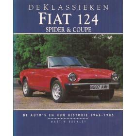 Fiat 124 Spider Coupe De Klassieken met gebruikssporen 66-85 Nederlands