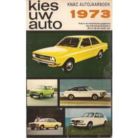 Jaarboek  Alle modellen KNAC 73 met gebruikssporen   Nederlands
