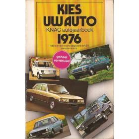 Jaarboek  Alle modellen KNAC 76 ongebruikt   Nederlands