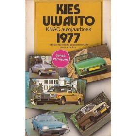 Jaarboek  Alle modellen KNAC 77 ongebruikt   Nederlands