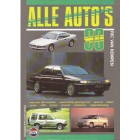 Jaarboek R. van Kempen Alle modellen KNAC Alle Auto's 1990 ongebruikt Nederlands