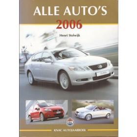 Jaarboek H. Stolwijk Alle modellen KNAC Alle Auto's 2006 ongebruikt Nederlands