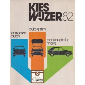 Jaarboek  Alle modellen Kieswijzer 82 ongebruikt   Nederlands