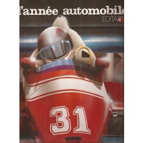 L'annee automobile 1983-1984, jaarboek, Edita, met gebruikssporen, Frans
