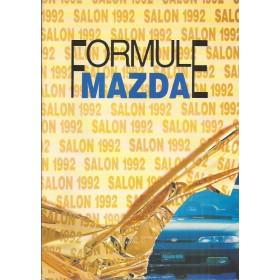 Mazda Alle Jaarboek Alle modellen Mazda 1992 met gebruikssporen Nederlands