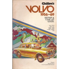 Volvo P444/P544/120-serie/140-serie/164-serie/1800 Repair & Tune-up guide Benzine Chilton 56-69 met gebruikssporen Engels
