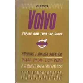 Volvo PV444/PV544/122s/P1800 Glenn's Repair & Tune-up guide Benzine Chilton 65-69 met gebruikssporen Engels