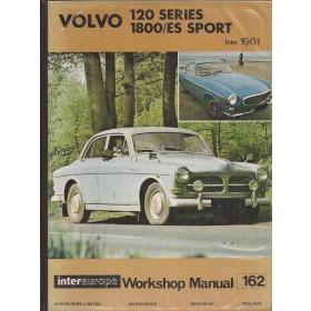 Volvo 120-serie/1800 Intereurope Repair Manuals Benzine Intereurope 61-70 met gebruikssporen harde kaft  Engels