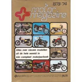Jaarboek  Jaarboek MotorMagazine 73-74 met gebruikssporen   Nederlands