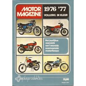 Jaarboek  Jaarboek MotorMagazine 76-77 ongebruikt   Nederlands