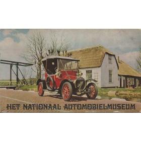 Het nationaal automobielmuseum Leidschendam, Museumgids, 72, met gebruikssporen, Nederlands