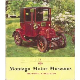 Montagu Motor Museums Beaulieu / Brighton, Museumgids, 68, met gebruikssporen, Engels