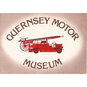 Guernsey Motor Museum, Museumgids, 76, met gebruikssporen, Engels