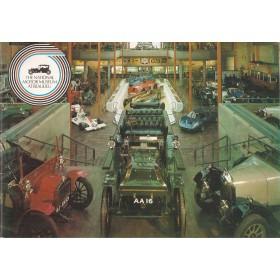 The National Motor Museum Beaulieu, Museumgids, 1981, met gebruikssporen, Engels